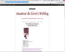 Amateur de Livre's Weblog