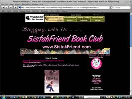SistahFriend Book Club @ MySpace