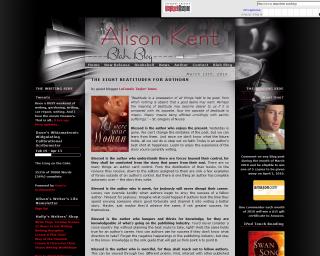 Alison Kent's Blah-Blog