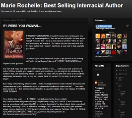 Marie Rochelle: Best Selling Interracial Author