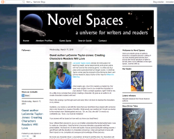Novel Spaces: Guest Author LaConnie Taylor-Jones