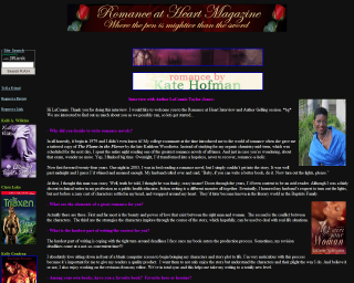 Romance at Heart with LaConnie Taylor-Jones
