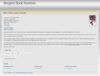 Bergers Book Review